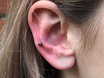 auricle piercing ear