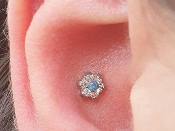 inner conch piercing
