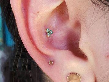 cute conch piercing
