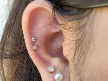 double cartilage piercing ideas