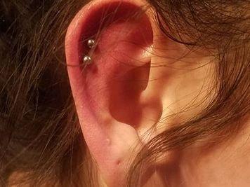double cartilage piercing pros cons