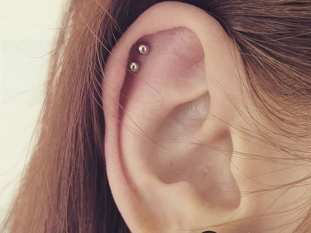 double helix piercing cost