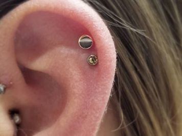 double piercing and cartilage
