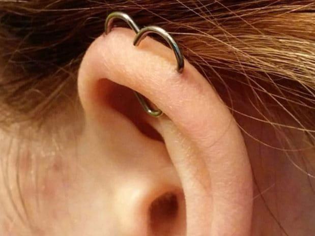 heart orbital piercing
