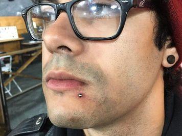 labret piercing cost
