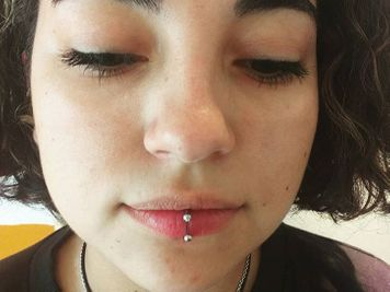 labret piercing experience