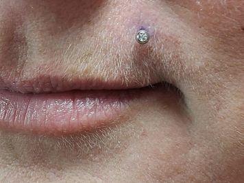 monroe piercing side