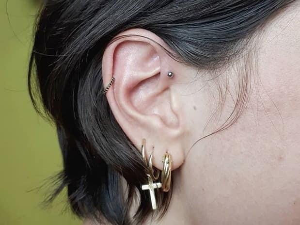 best ear jewelry men