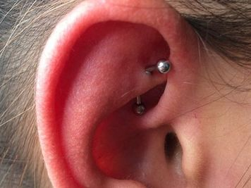 rook piercing picture