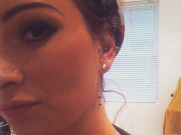 side neck piercing