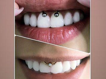 smiley piercing jewellery ideas