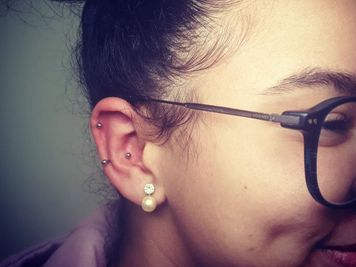 snug piercing and helix