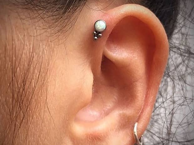 what is forward helix piercing
